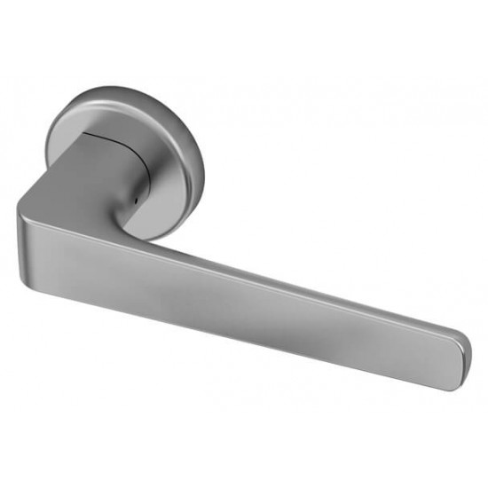 Deurkruk Sofia satin chrome